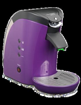 Cafetière double-fonction violette