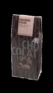 Boîte Amandes enrobées de chocolat