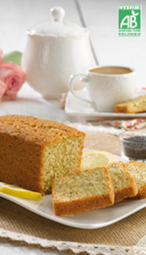 Cake Citron Pavot Bio