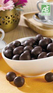 Billes céréales au chocolat noir