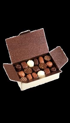 Ballotin Argent Chocolat