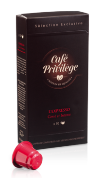 L'Expresso - Café en capsules