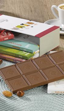 Coffret 5 tablettes de chocolats