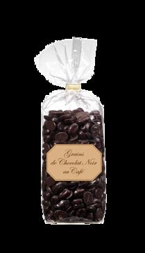 Les Grains de chocolat noir