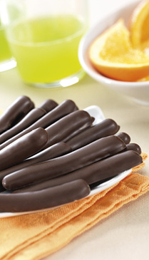 Baguettes Chocolat à l'Orange