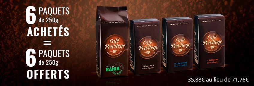 Café Privilège Moulu 3 kg