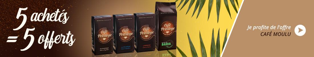 Café panachage moulu x10