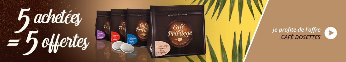 Café Privilège Dosettes  (10x125g)