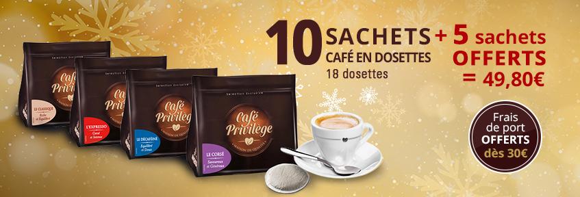 Café Privilège Dosettes  P (15x125g)