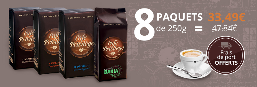 Café Privilège Moulu 2 kg