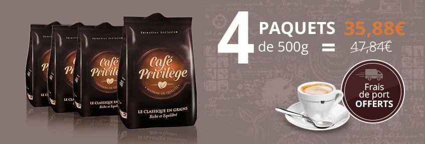 Café Privilège Grains