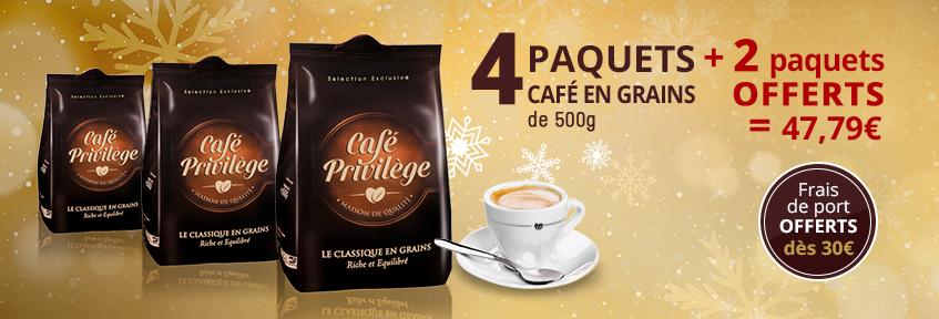 Café en Grains pur arabica 3 kg