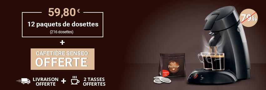 L'offre Senseo by Café Privilège