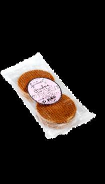 Gaufres Fourrées Caramel