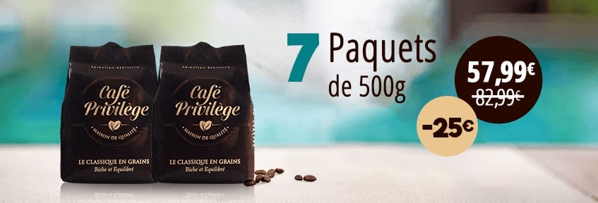 Exclu Web Café Grains pack 7 -25E