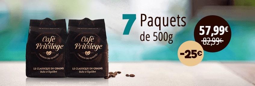 Exclu Web Café Grains pack 7 -25E