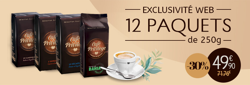 Exclu web Café Moulu pack 12-30%